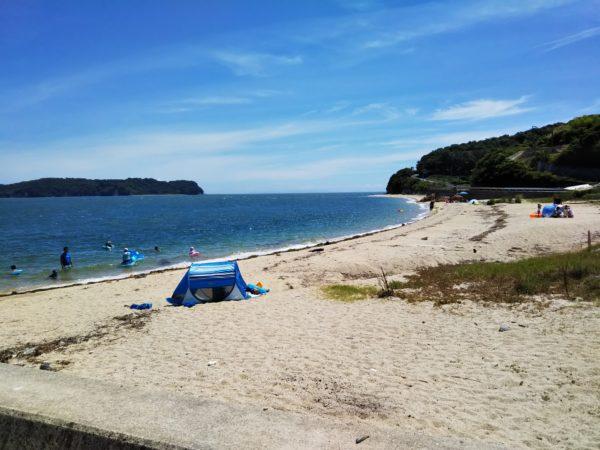 鎌野海水浴場ビーチ
