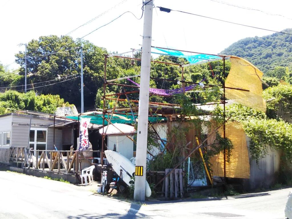 鎌野海水浴場海の家
