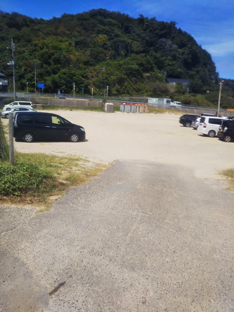 小栗浜海水浴場駐車場