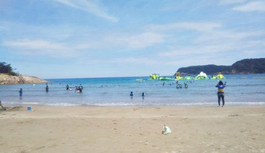 鳥取県にこんなにきれいな海が 浦富海岸の海水浴場