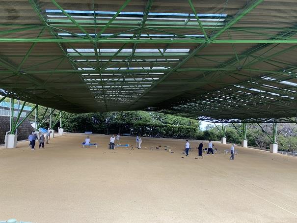 萩の丘公園ゲートボール場