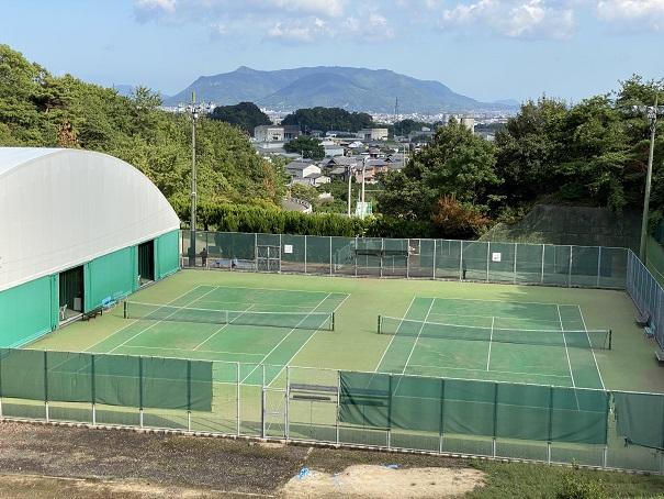 萩の丘公園テニスコート