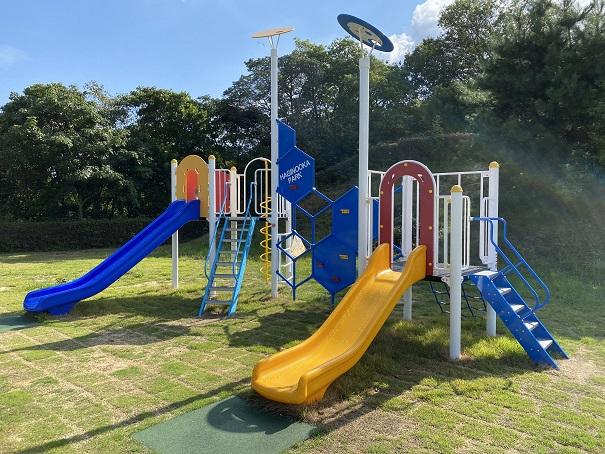 萩の丘公園遊具