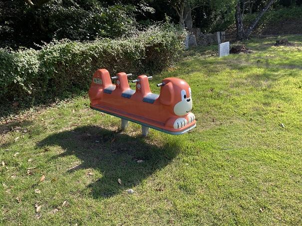 萩の丘公園動物の遊具