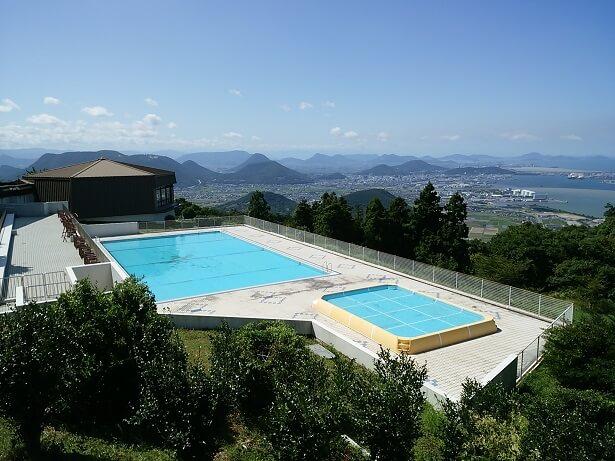 休暇村讃岐五色台の子供用プール