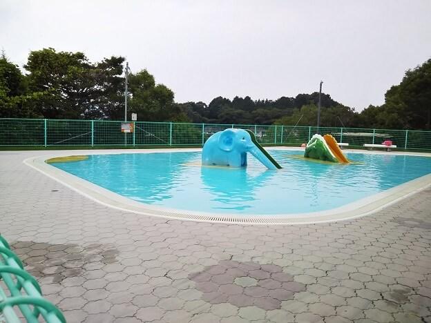 萩の丘公園 幼児プール