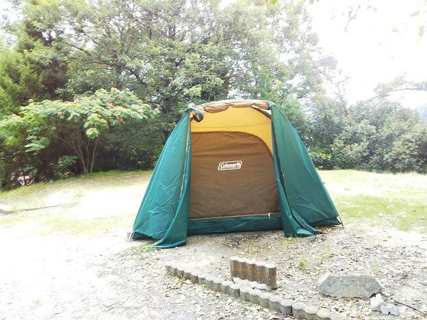萩の丘公園 キャンプ場