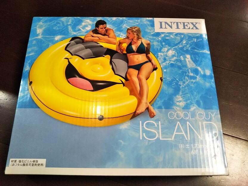 インテックスINTEX 浮き輪 クールガイアイランド