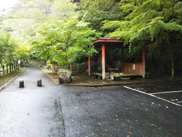 塩江不動の滝 東屋