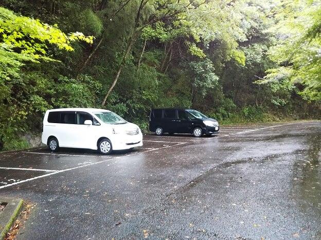 塩江不動の滝 駐車場