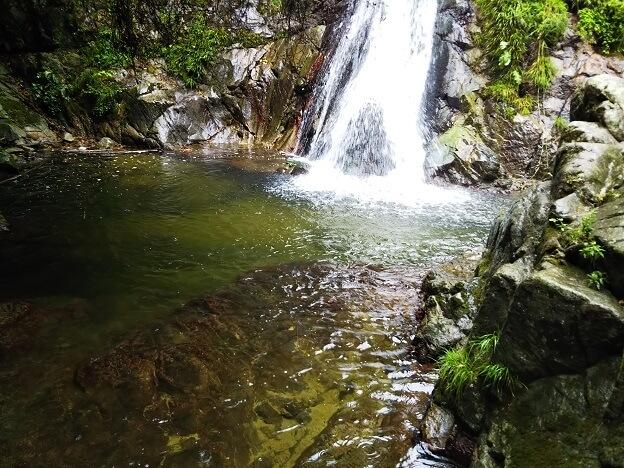 塩江不動の滝 滝つぼ