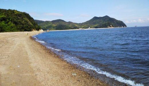 東かがわ市田の浦野営場と田の浦海岸でキャンプと海水浴