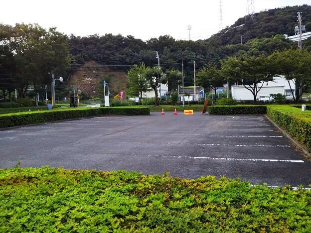 番の州公園駐車場