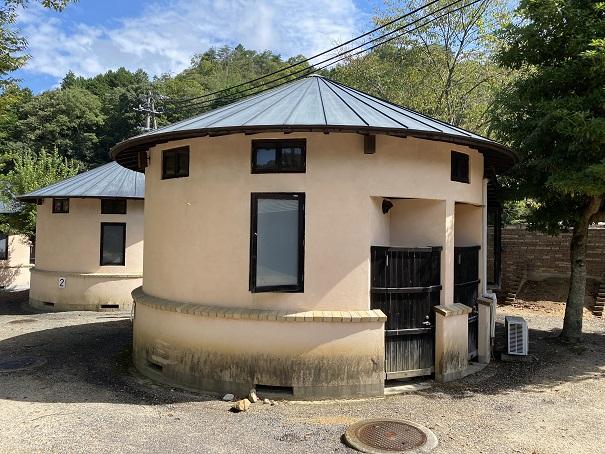 キャンプ村tatutaの森コテージ