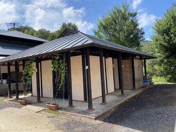 キャンプ村tatutaの森コインシャワー