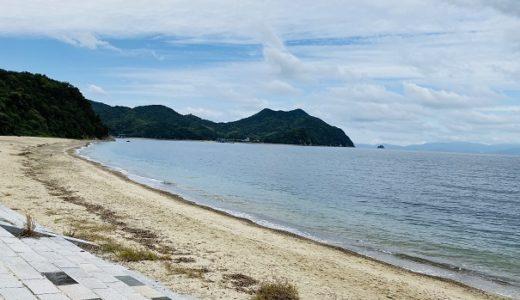 田の浦野営場と田の浦海岸で無料キャンプと海水浴 東かがわ市