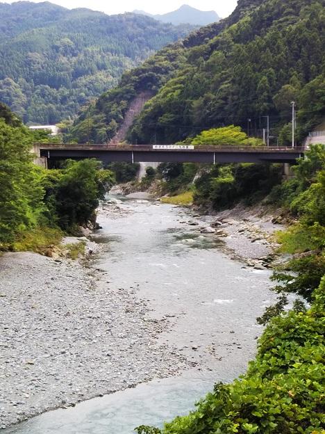 穴吹川 二又の瀬 橋