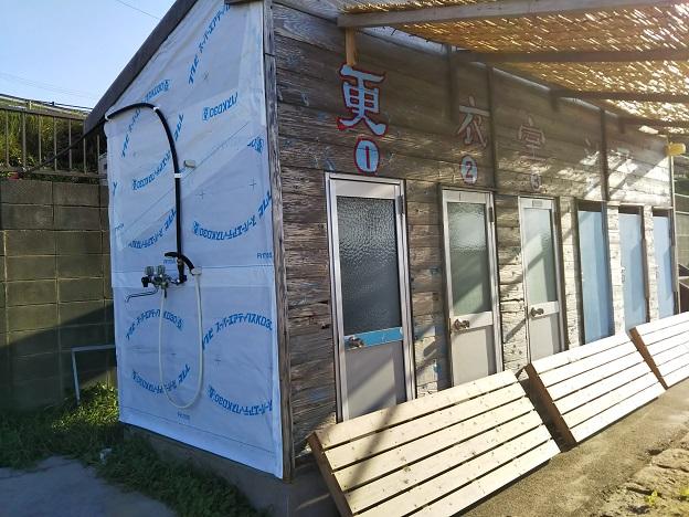 宇野海水浴場 無料シャワー