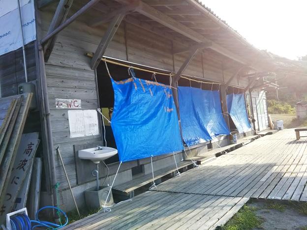 宇野海水浴場 海の家