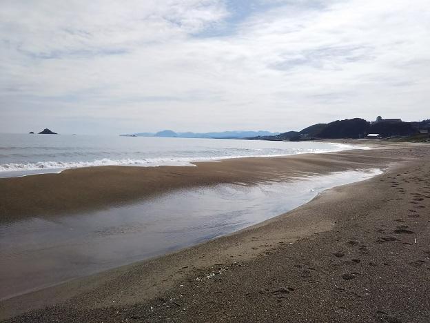 白兎海水浴場ビーチ