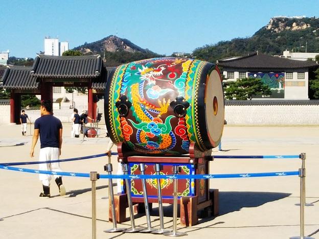 景福宮の太鼓