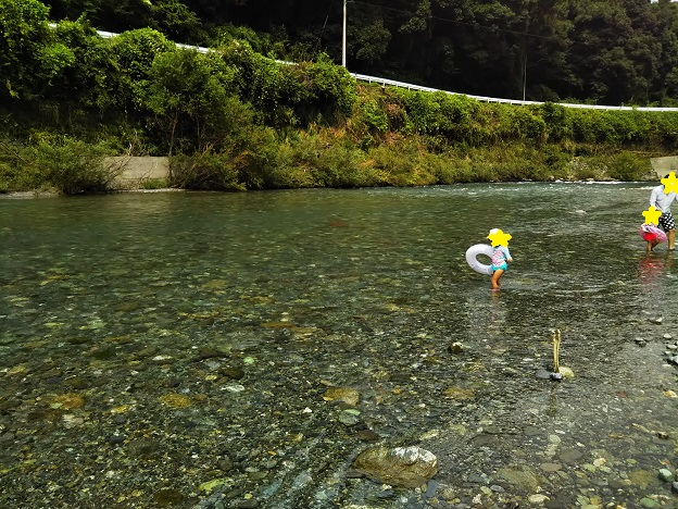 穴吹川天神の瀬 川2