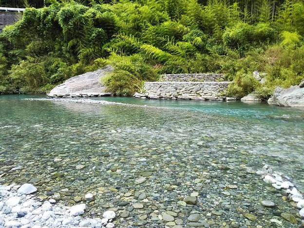 穴吹川 二又の瀬 水