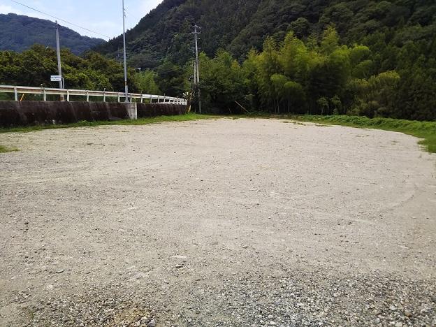穴吹川 白人の瀬 駐車場