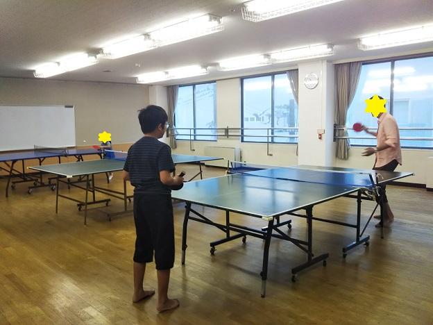 丸亀市児童館 卓球