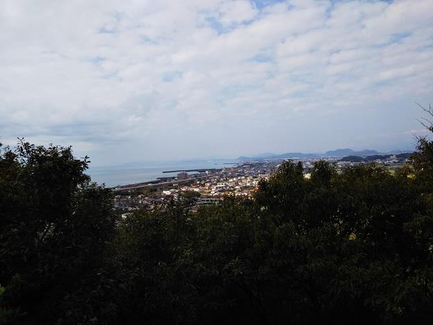 月見山こどもの森アスレチック7展望台からの眺め
