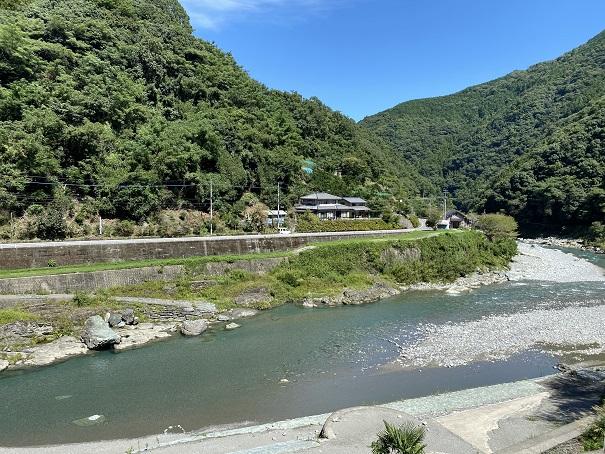 二又の瀬 清流穴吹川