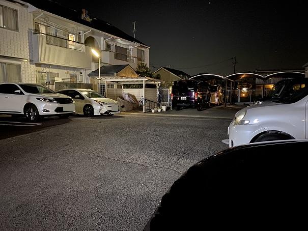 アズマ屋駐車場