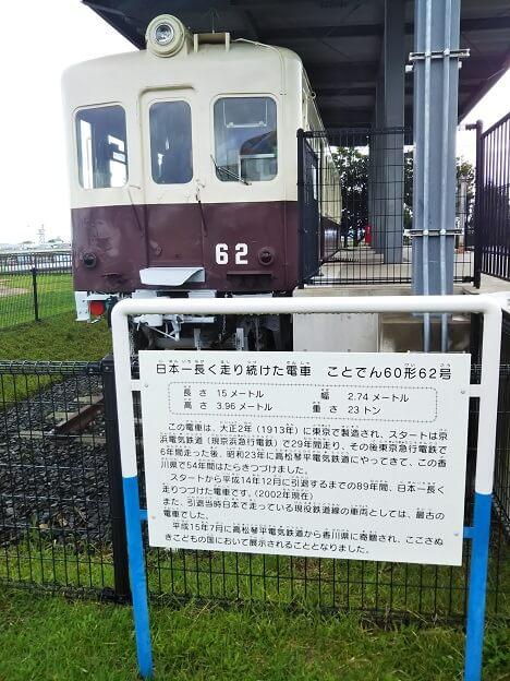 さぬきこどもの国 電車