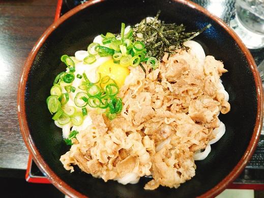 讃州製麺の甘玉うどん