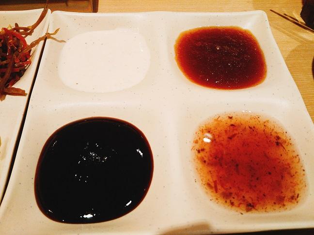 串家物語 ソース皿