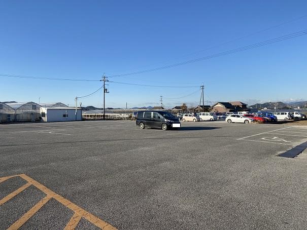 西島園芸団地 駐車場