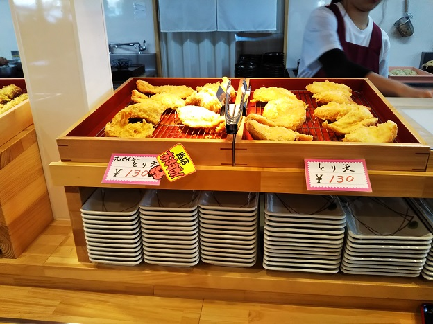 なりや本店 天ぷら1