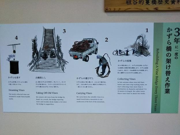 かずら橋の作り方