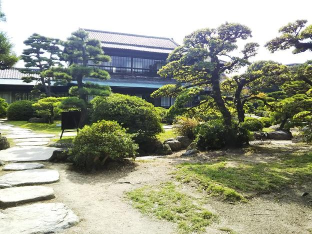 玉藻公園 飛雲閣庭園