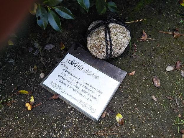 玉藻公園 石