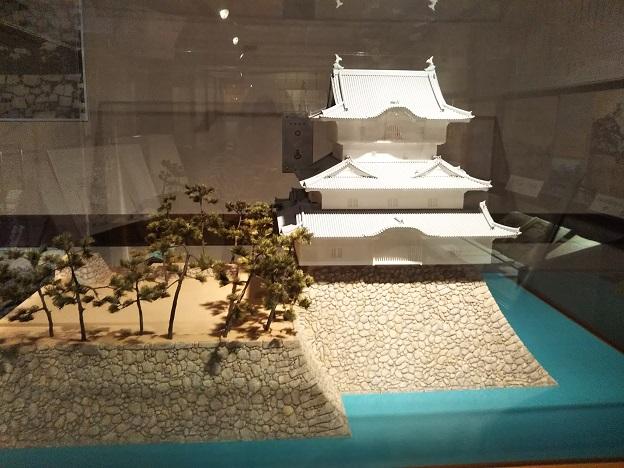 陳列館高松城模型