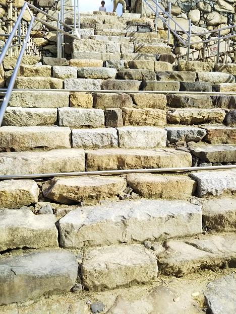 高松城 天守階段