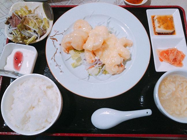 福臨門 エビマヨ定食
