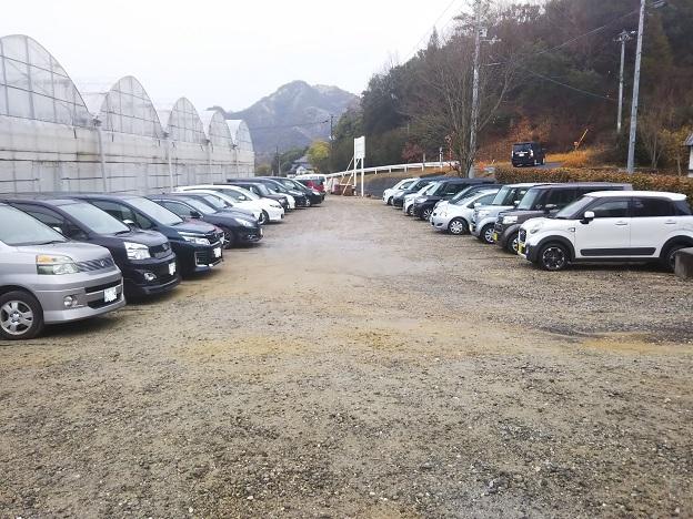 森のいちご 駐車場