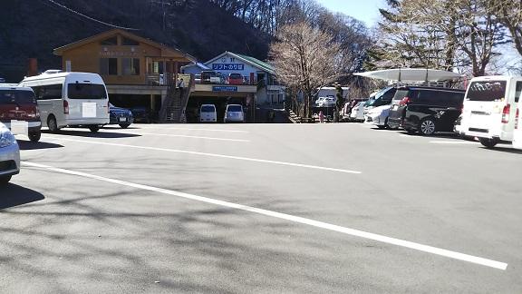 剣山駐車場