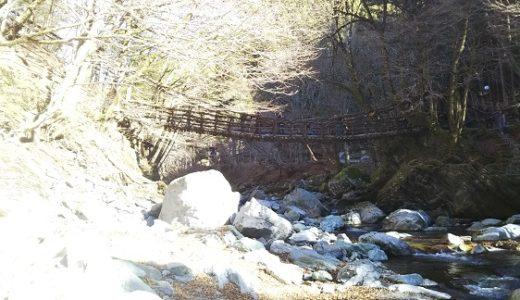 奥祖谷二重かずら橋 徳島県の知る人ぞ知るもう一つのかずら橋