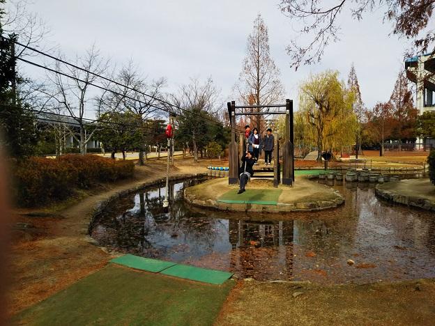 倉敷スポーツ公園 わんぱく広場 ターザンロープ