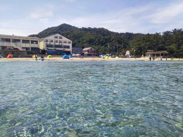 浦富海岸、浦富海水浴場