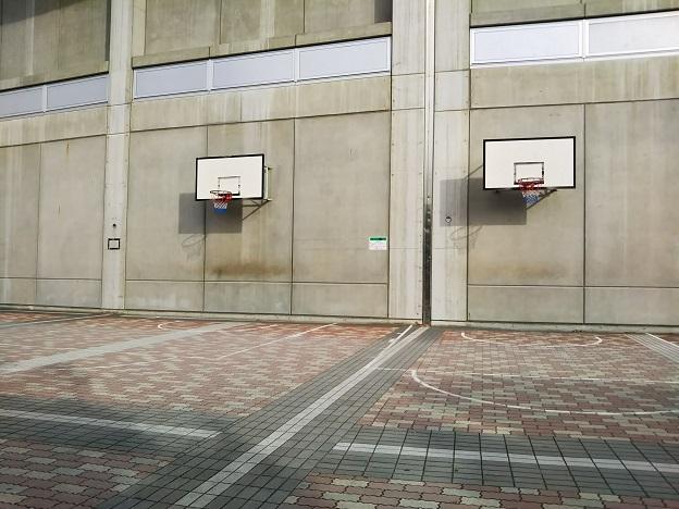 倉敷スポーツ公園 バスケットゴール