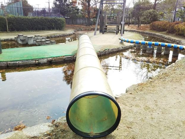 倉敷スポーツ公園 わんぱく広場 トンネル